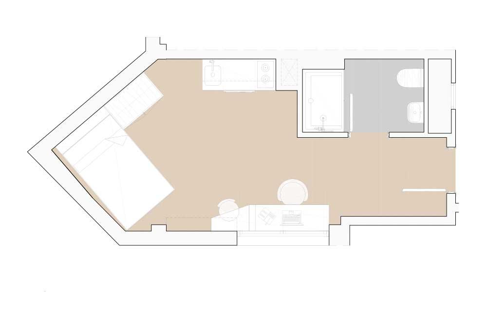 Estudio Premium Residencia Universitaria Granada