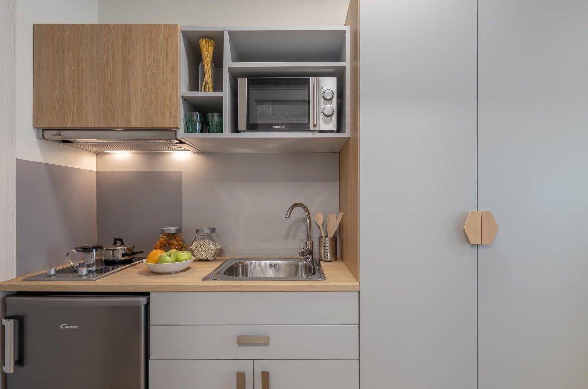 cocina residencia universitaria Granada